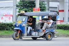 Chiangmai van de Tuk tuk taxi Royalty-vrije Stock Foto's