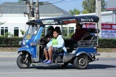 Chiangmai van de Tuk tuk taxi Stock Foto's