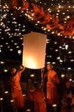 Chiangmai Yee Peng festival Stock Image