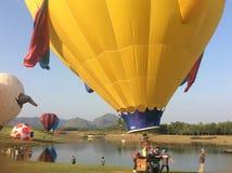 Chiangrai国际气球节日2018 14 - 18 ภ พ 2561 库存图片