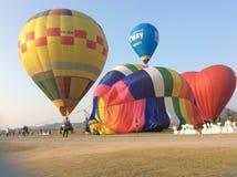 Chiangrai国际气球节日2018 14 - 18 ภ พ 2561 图库摄影