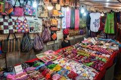 Chiangrai夜义卖市场 免版税库存照片