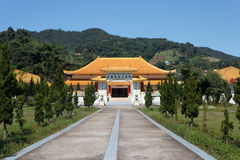 CHIANGRAI ΤΑΪΛΑΝΔΗ - 22 ΟΚΤΩΒΡΊΟΥ 2012: Αναμνηστικό μουσείο αιθουσών μάρτυρα στη Mae Salong, Mae FA Luang, Chiangrai, Ταϊλάνδη Στοκ Εικόνα