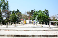 Chiangrai City Pillar Shrine or Sadu Mueang at Doi Chom Thong Stock Photography
