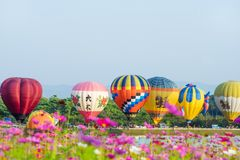 CHIANGRAI Tailândia - 16 de fevereiro de 2017: International do parque de Singha Imagem de Stock