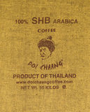 CHIANGRAI, TAILÂNDIA - 20 DE JULHO: Café do tipo Fotos de Stock Royalty Free