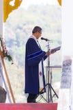 CHIANGRAI, TAILÂNDIA - 24 DE FEVEREIRO: cristão asiático não identificado Imagem de Stock Royalty Free