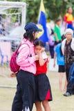 CHIANGRAI, THAILAND - DECEMBER 29: unidentified loser girl cryin Stock Photo
