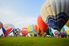International Balloon Fiesta 2018 in Singha Park, Chiang Rai, Th Royalty Free Stock Photography