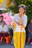 CHIANGRAI -THAILAND NOVEMBER 21: Unidentified Tai Lue women eth Stock Photography