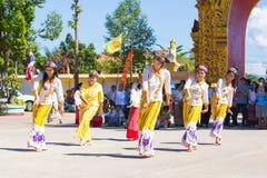 CHIANGRAI -THAILAND NOVEMBER 21: Unidentified Tai Lue women eth Royalty Free Stock Photos