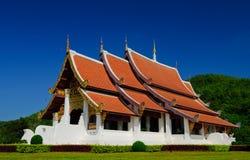 chiangraitempel thailand Arkivfoton