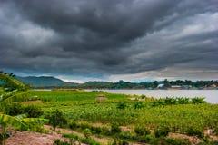 Chiangsaen, Chiangrai в Таиланде Стоковые Фотографии RF