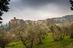 Chianni, Pise, Toscane - Italie photo libre de droits