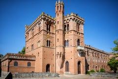 Chianti葡萄园在托斯卡纳,意大利 免版税库存图片