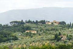 Chianti,托斯卡纳 免版税图库摄影