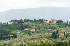 Chianti, Тоскана Стоковая Фотография RF
