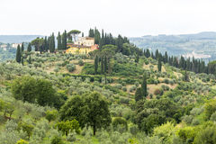 Chianti, Тоскана Стоковые Изображения RF