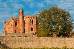 Chianti de château de Brolio photos libres de droits