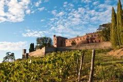 Chianti de château de Brolio image libre de droits