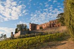 Chianti de château de Brolio image stock