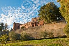 Chianti de château de Brolio images stock