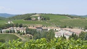 Chianti en Toscane photos libres de droits
