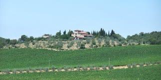 Chianti en Toscane photographie stock