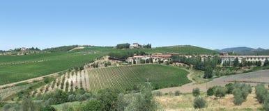 Chianti en Toscane images stock