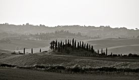 CHIANTI LANDSCAPE Royalty Free Stock Photo