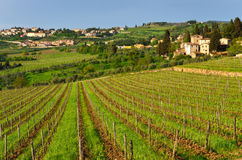 Chianti landscape, Tuscany, Italy Royalty Free Stock Photos
