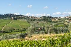 Chianti, Toscana Foto de archivo libre de regalías