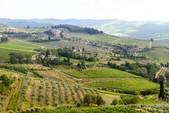Chianti, Toscana Fotos de archivo libres de regalías