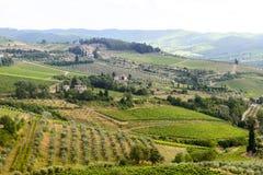 Chianti, Toscane photos libres de droits