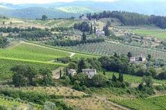 Chianti, Toscane images stock