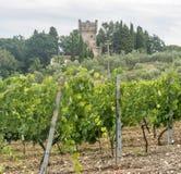 Chianti, Toscane image stock