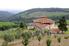 Chianti (Toscane), vieille ferme photo libre de droits