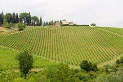 Chianti (Toscane), vieille ferme image stock