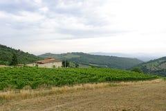 Chianti (Toscane), vieille ferme photographie stock