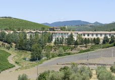 Chianti in Toscanië Royalty-vrije Stock Afbeeldingen
