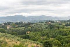 Chianti, Toscanië Stock Afbeeldingen