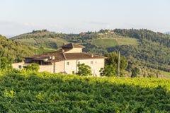 Chianti, Toscanië Royalty-vrije Stock Foto's