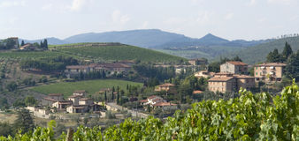 Chianti in Toskana lizenzfreie stockfotos