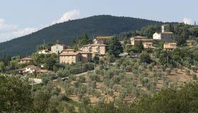Chianti in Toskana lizenzfreie stockbilder