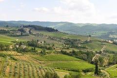Chianti, Toskana Lizenzfreies Stockfoto