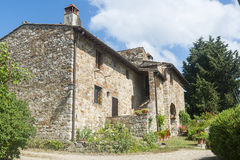 Chianti, Toskana Lizenzfreies Stockbild