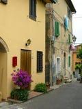 Chianti Toskana Häuser Lizenzfreie Stockfotografie