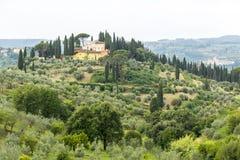 Chianti, Tuscany Obrazy Royalty Free