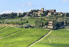 Chianti, Tuscany Royalty Free Stock Photography