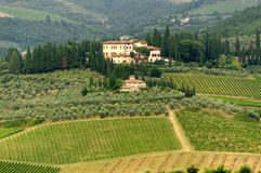 Chianti (Tuscany), old farmhouse Royalty Free Stock Photography